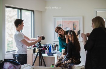 vancouver behind the scenes: the making of a video