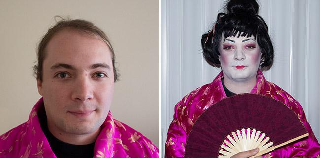 geisha halloween makeup 2