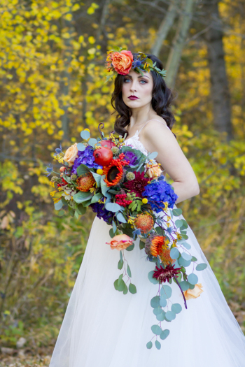 fab you bliss feature – autumn ethereal wedding