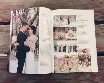 Blush Magazine Feature: Kelsa + Shane's Modern Ukrainian Wedding