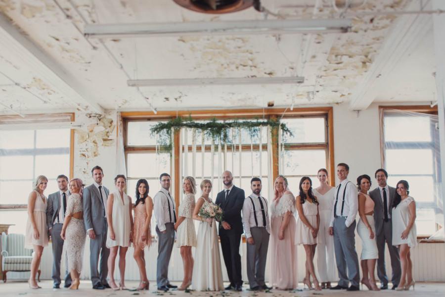 Yellowhead Brewery Edmonton Wedding Photography