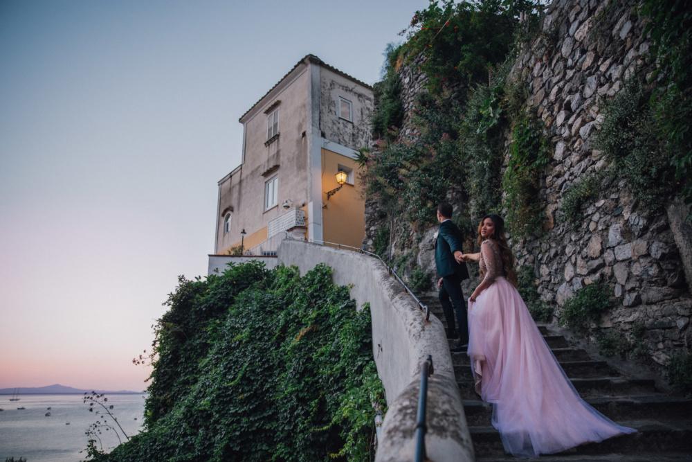 Positano, Italy Elopement