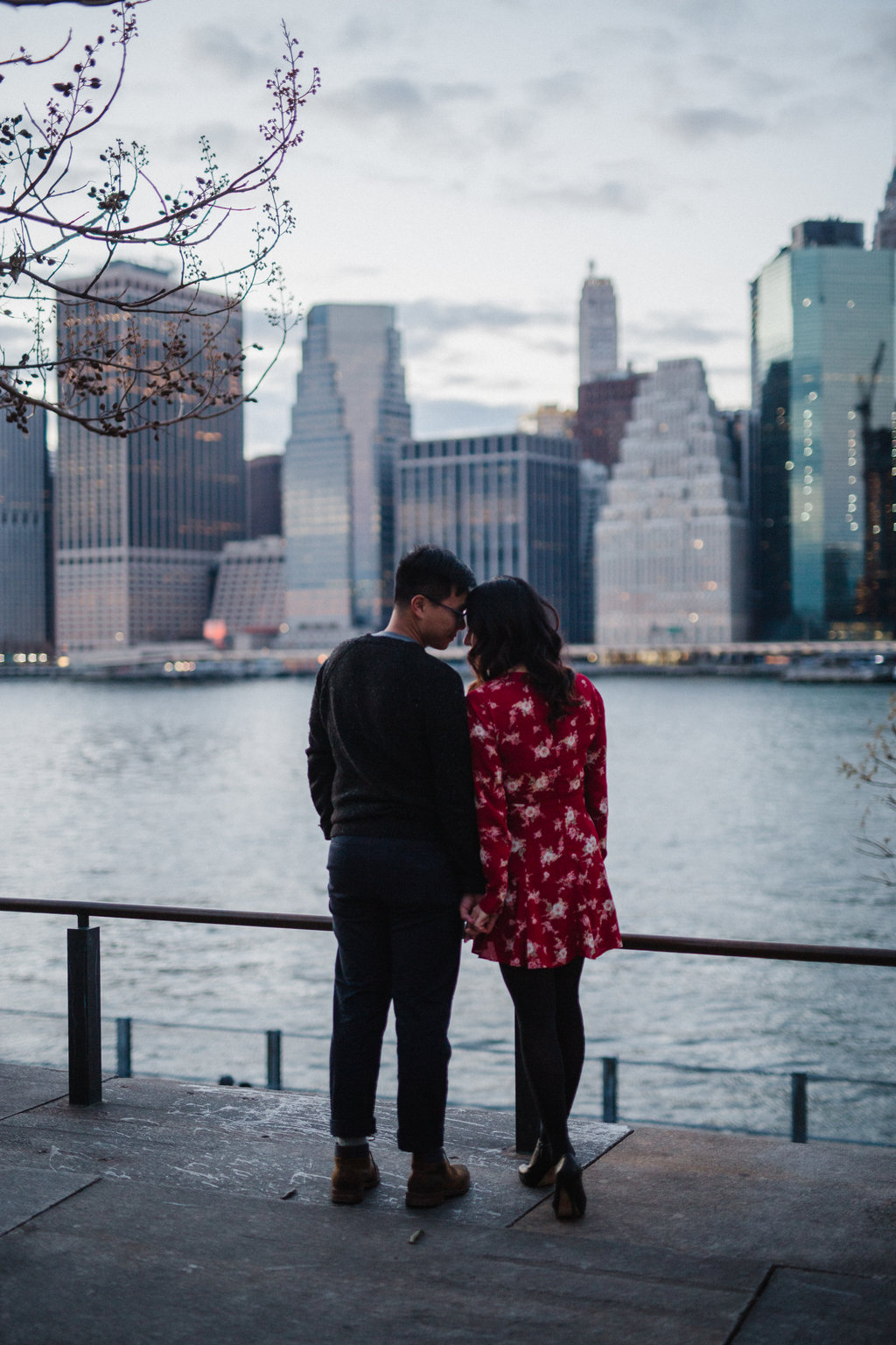 Alex + Farsai's Brooklyn Engagement Session